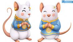 وکتور موش ها