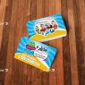 کارت ویزیت مهد کودک و پیش دبستانی خاطره