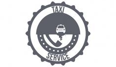 وکتور لیبل تاکسی