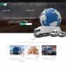 طرح لایه باز صفحه اصلی قالب سایت شرکت باربری و حمل و نقل