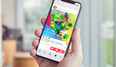 طرح لایه باز بنر مجازی اینستگرام ویژه فروش اسباب بازی