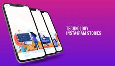 پروژه افترافکت استوری اینستاگرام، تکنولوژی