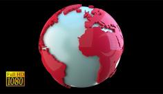 بک گراند ویدیویی سه بعدی کره زمین