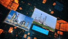 پروژه افترافکت نمایش تیزر تبلیغاتی شرکت نفت فلات قاره