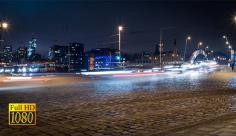 تایم لپس ماشین ها در سطح شهر