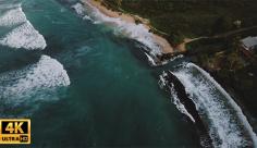 فیلم هوایی دریا