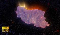 موشن گرافیگ ویدویی نقشه کشور ایران