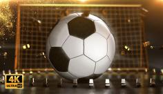 فوتیج ویدیویی توپ فوتبال