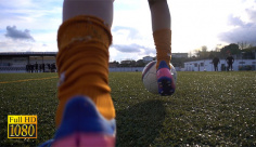 اسلوموشن ویدیویی تمرین فوتبال