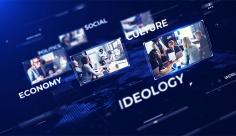 پروژه افترافکت اخبار جهان