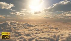 بک گراند ویدیویی ابر و آسمان