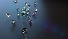 بک گراند ویدیویی الماس زیبا