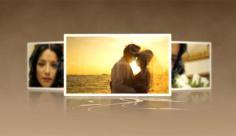پروژه افترافکت نمایش اسلایدشو ذرات عروسی