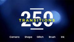 پروژه افترافکت مجموعه 250 مدل ترانزیشن
