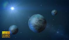 بک گراند تبلیغاتی فضا و کهکشان