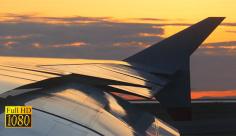 فوتیج ویدیویی هواپیما