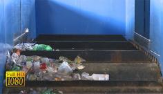فوتیج ویدیویی بارگیری زباله