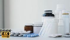 فوتیج ویدیویی دارو های پزشکی