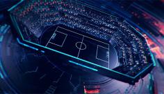 پروژه افترافکت برودکست ورزش فوتبال