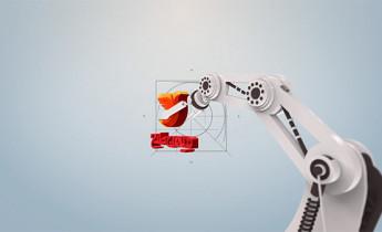 پروژه افترافکت نمایش لوگو ربات