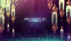 پروژه افترافکت نمایش متن تبلیغاتی ماه رمضان
