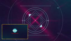 پروژه افترافکت نمایش لوگو شرکت هاستینگ سرور و کامپیوتر