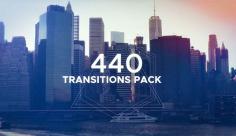 پروژه افترافکت مجموعه 440 مدل ترانزیشن