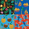 مجموعه ابزارهای فتوشاپ پترن هاوایی