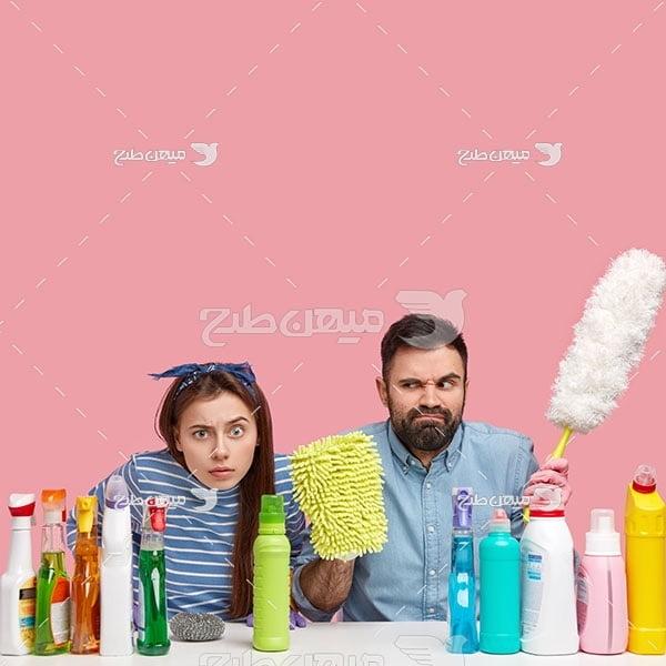 عکس مواد شوینده و نظافت