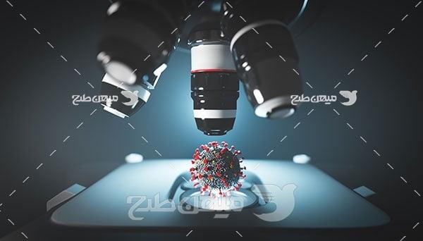عکس بررسی ویروس کرونا