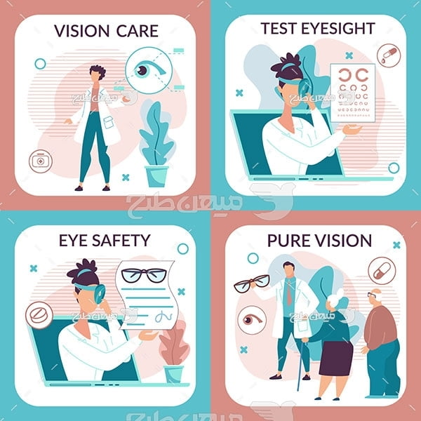 وکتور مراقبت از بینایی