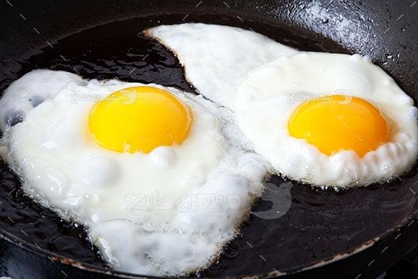 عکس تبلیغاتی غذا نیمرو