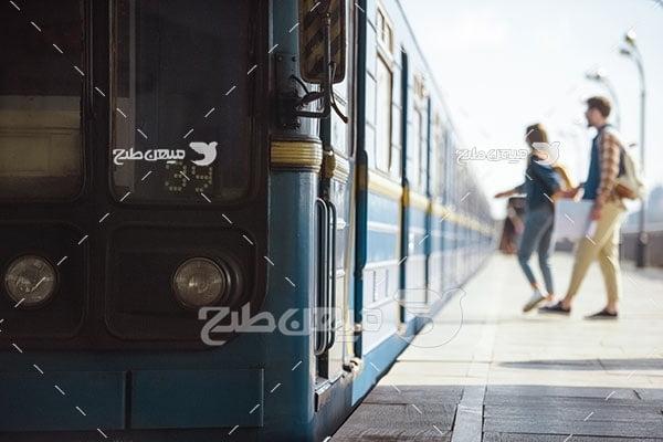 عکس قطار مسافر بری