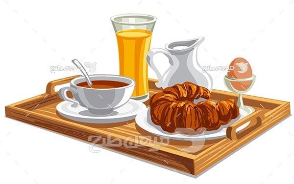 وکتور صبحانه