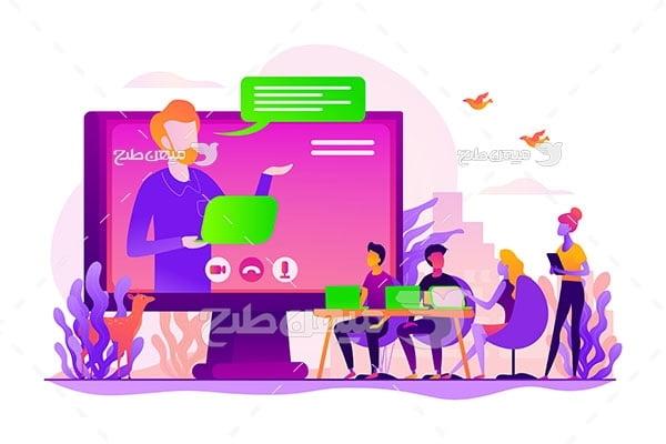 وکتور وبینار آنلاین