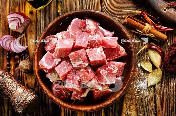 عکس آشپزی با گوشت قرمز