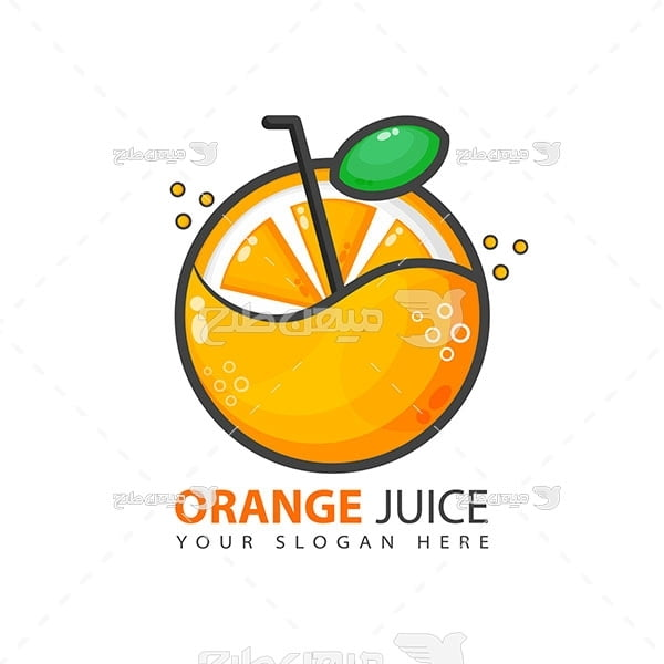 لوگو و آیکن آب پرتقال