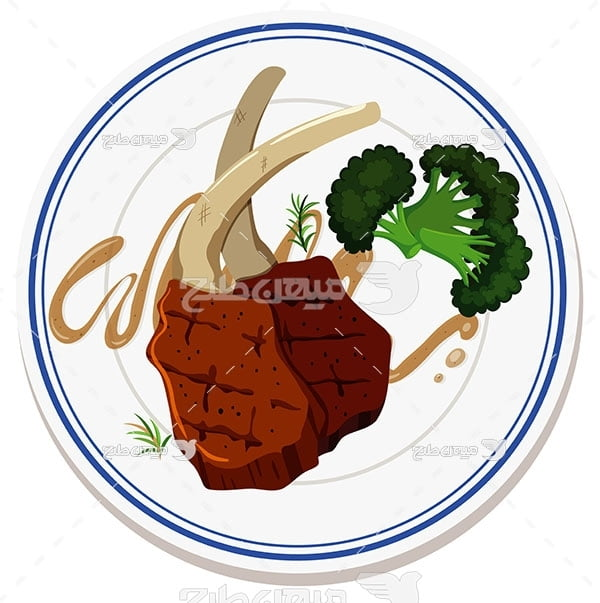 وکتور خوارک گوشت