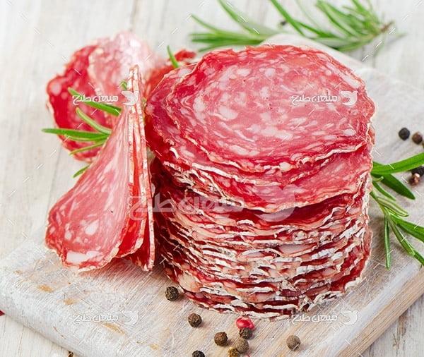 عکس ژامبون گوشت