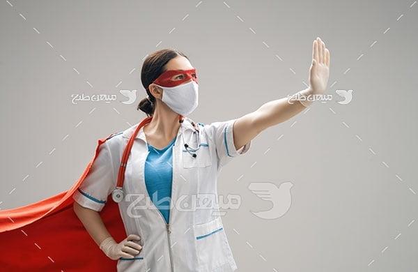 عکس پزشکان قهرمان