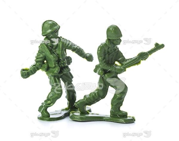 عکس ماکت سرباز جنگی
