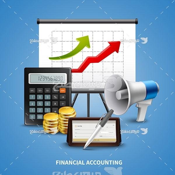 وکتور حسابداری مالی