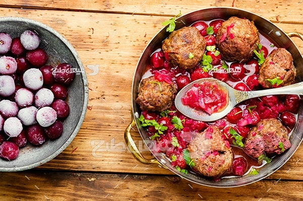 عکس خوراک کوفته ایرانی