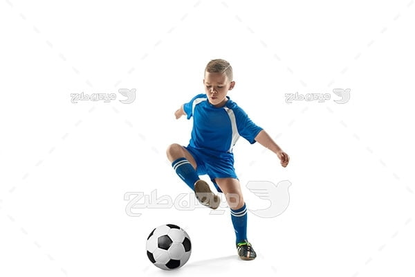 عکس فوتبالیست کودک