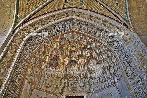 عکس نقاشی دیواری مسجد کاشان