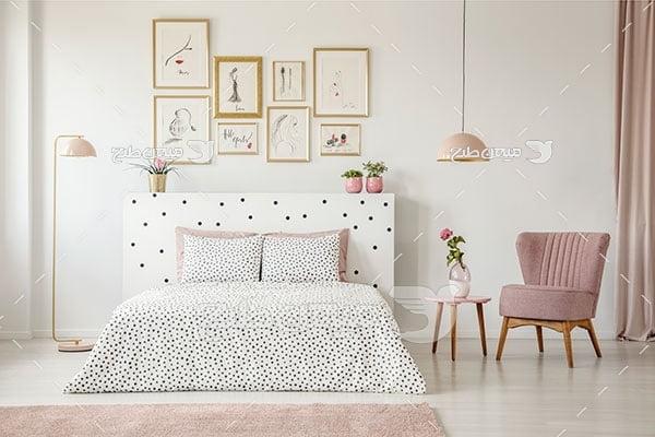 عکس نمای دکور اتاق خواب