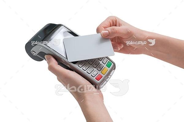 عکس پرداخت با کارت خوان