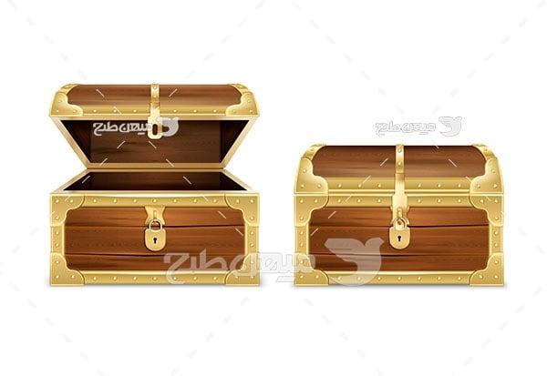 وکتور صندوق چه چوبی