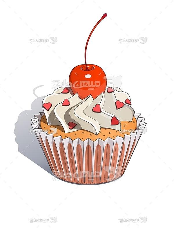 وکتور شیرینی