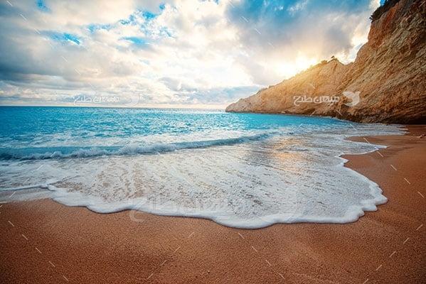 عکس تبلیغاتی طبیعت دریا